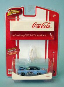 Johnny Lightning Coca-Cola 1970 Plymouth GTX