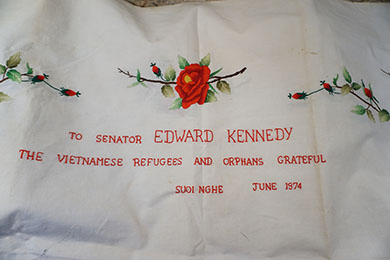 Senator Kennedy tablecloth